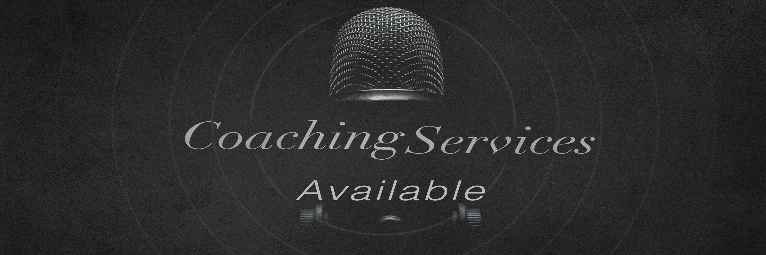 Coaching Services Available